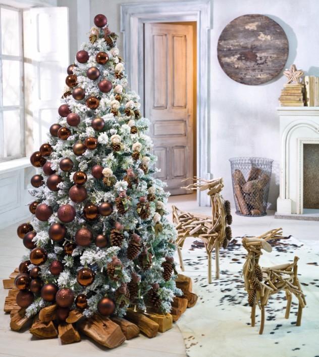 Customcasa decorar con estilo esta navidad impresiona - Arbol de navidad en ingles ...