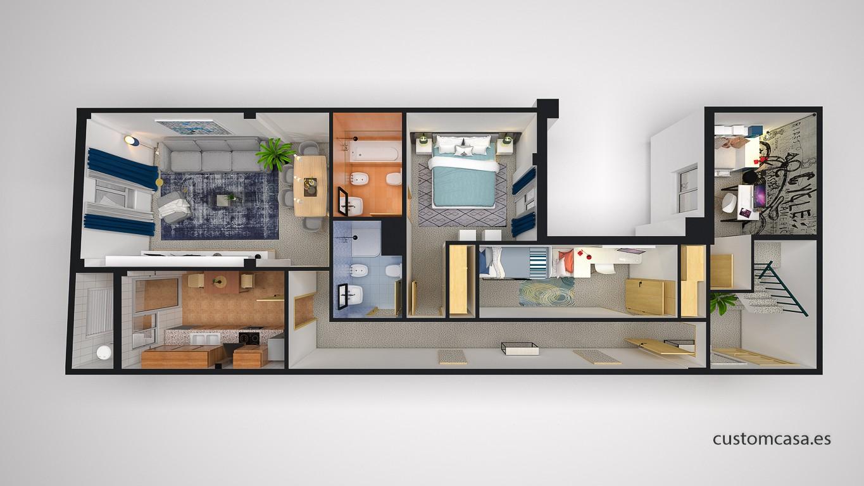 Customcasa vender tu casa con home planner es muy rentable - Home staging valencia ...